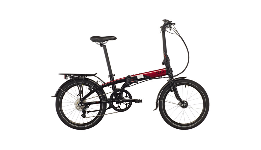 "tern Link D8 20"" black/red/grey"